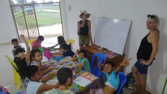 Teaching English In The Peruvian Amazon