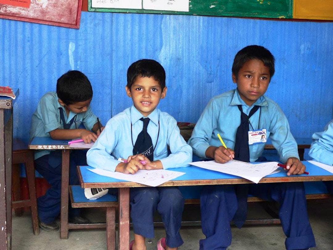 Education Assistant in Rural School