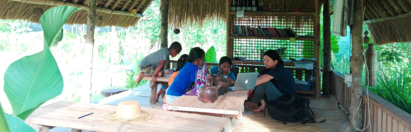 English Teaching and Organic Farming with Locals