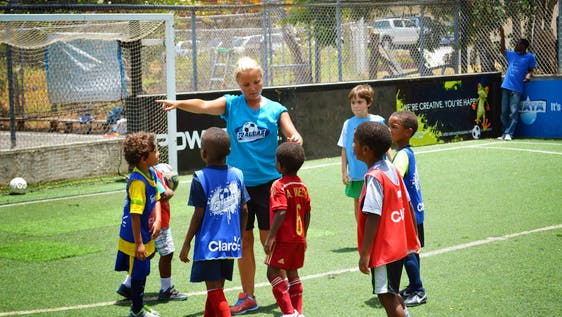 Volunteer Sports Coaching Abroad in Jamaica