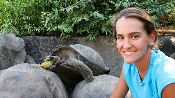 Giant Tortoise Breeding Center Volunteer