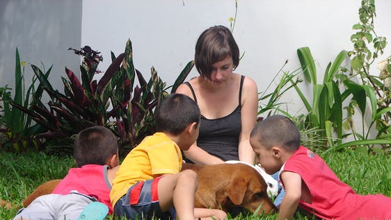 Provide Local Children with English Education