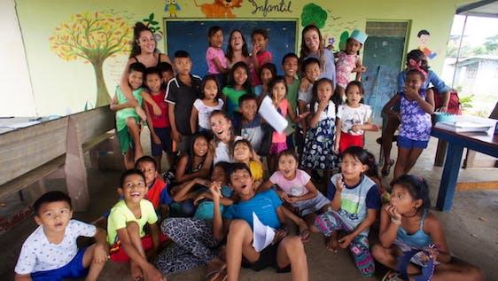 School reinforcement with indigenous communities