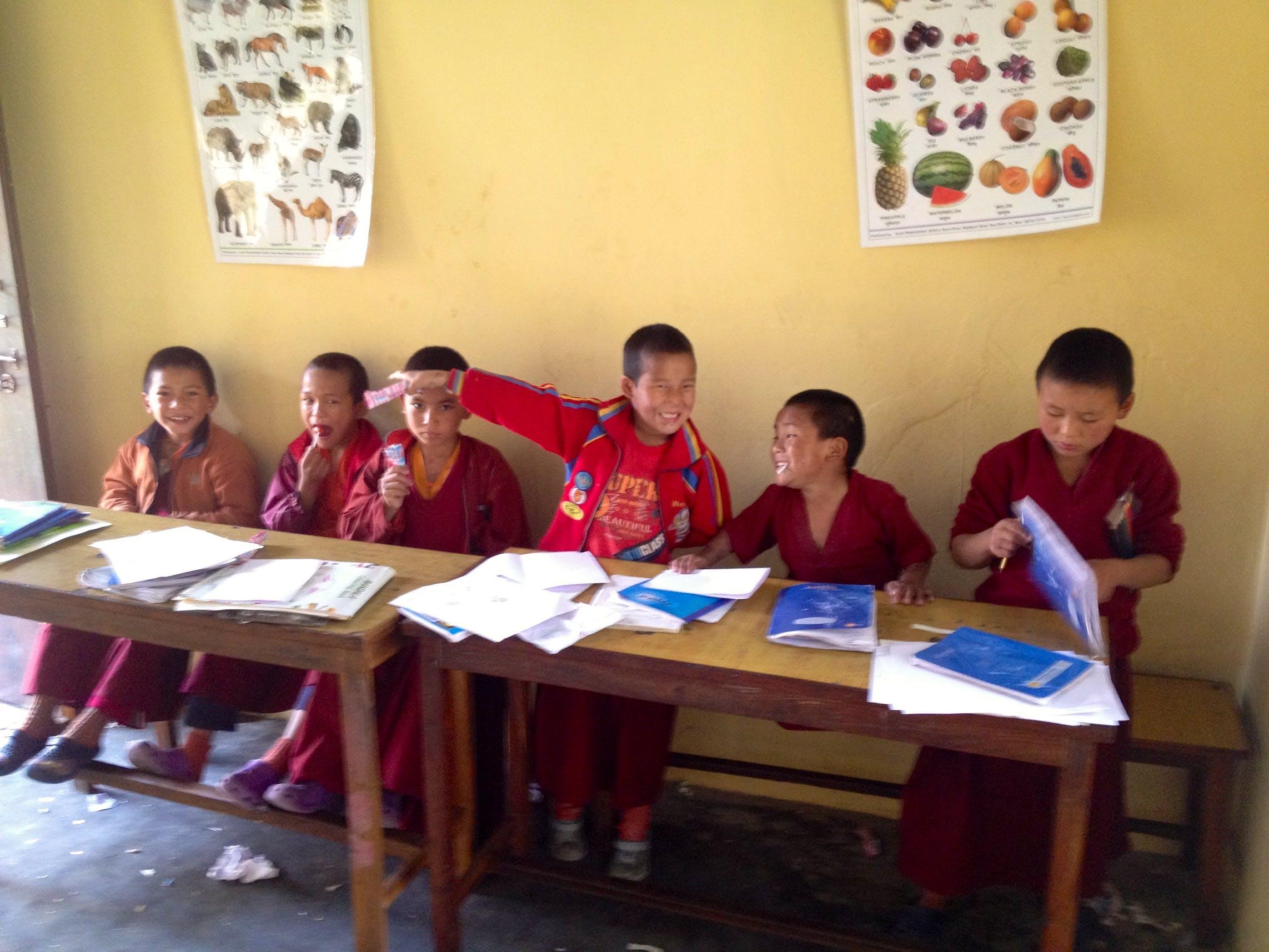 School Teaching in Buddhist Monasteries