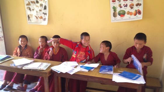 School Teaching in Buddhist Monasteries
