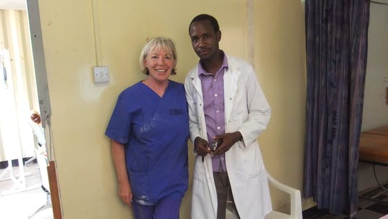 Support a local hospital in Arusha