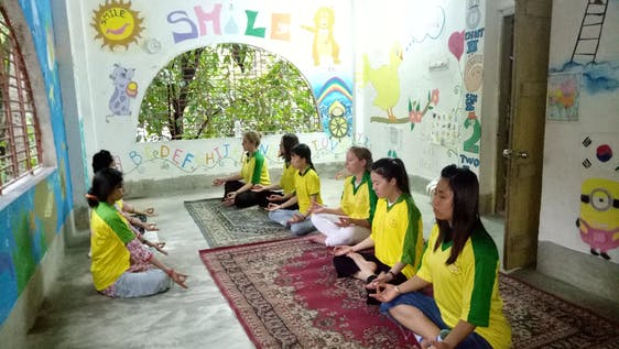 Yoga and Meditation Workshop & Community work