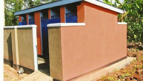 Construction of Improved Pit Latrines at Schools
