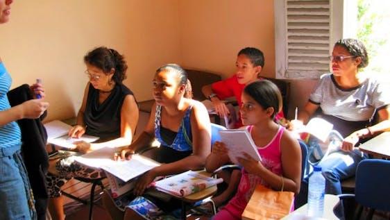 Teaching English in Favelas