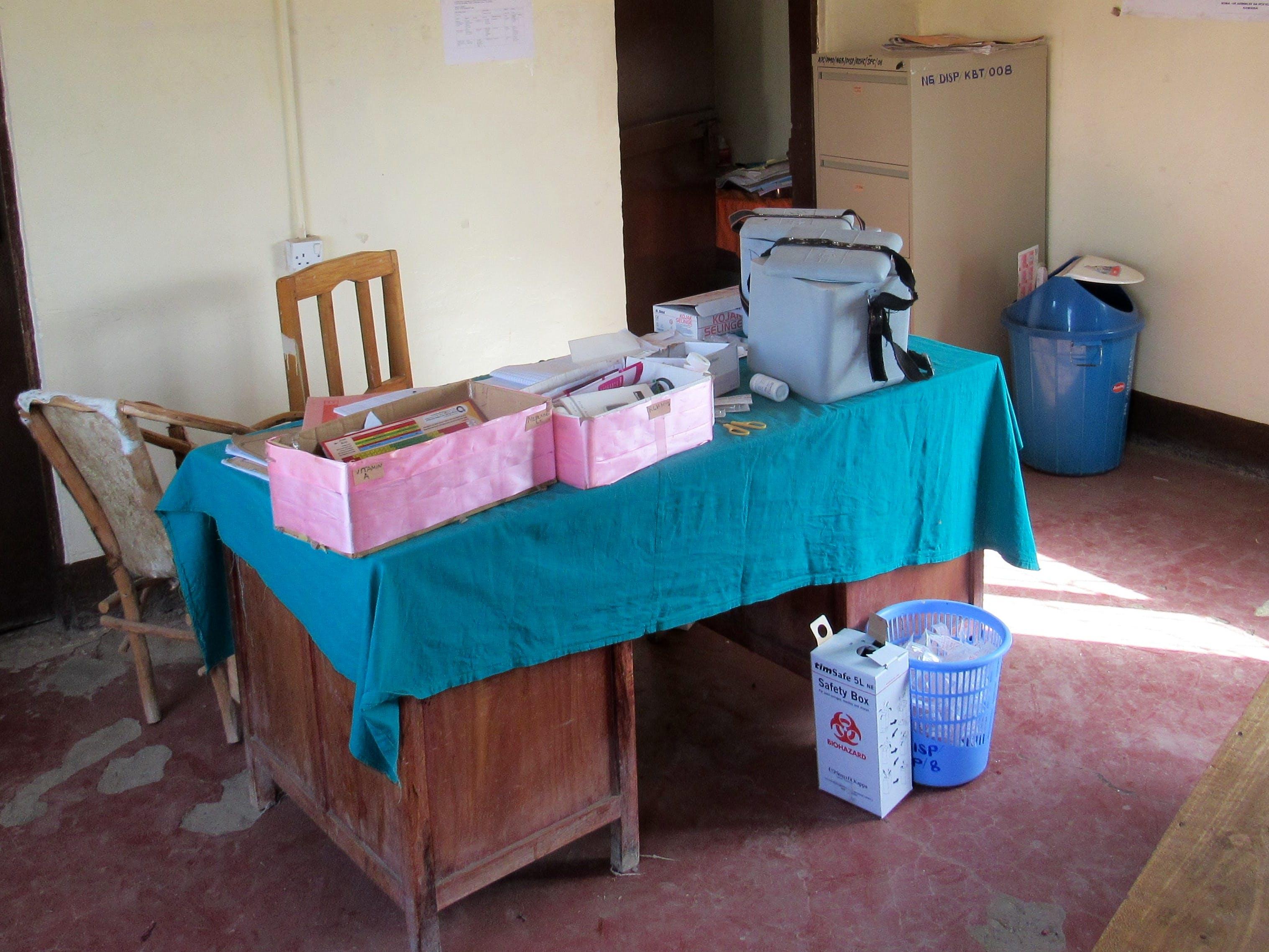 Medical work (Ndorbo Village Hospital)