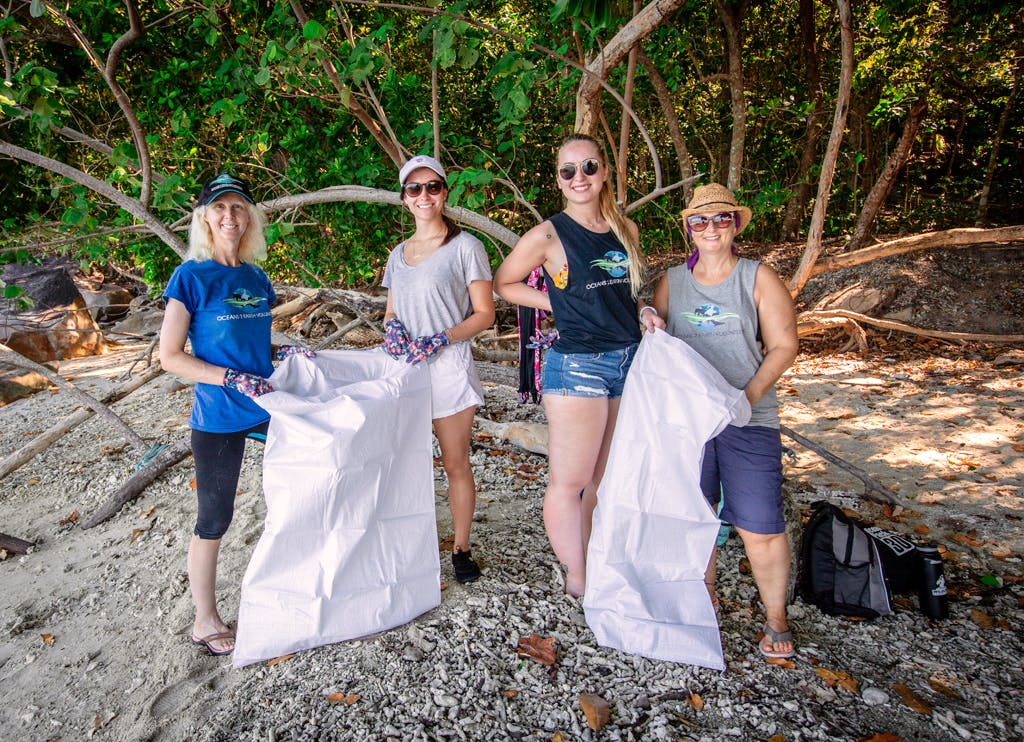 Reef Monitoring and Beach Clean Up