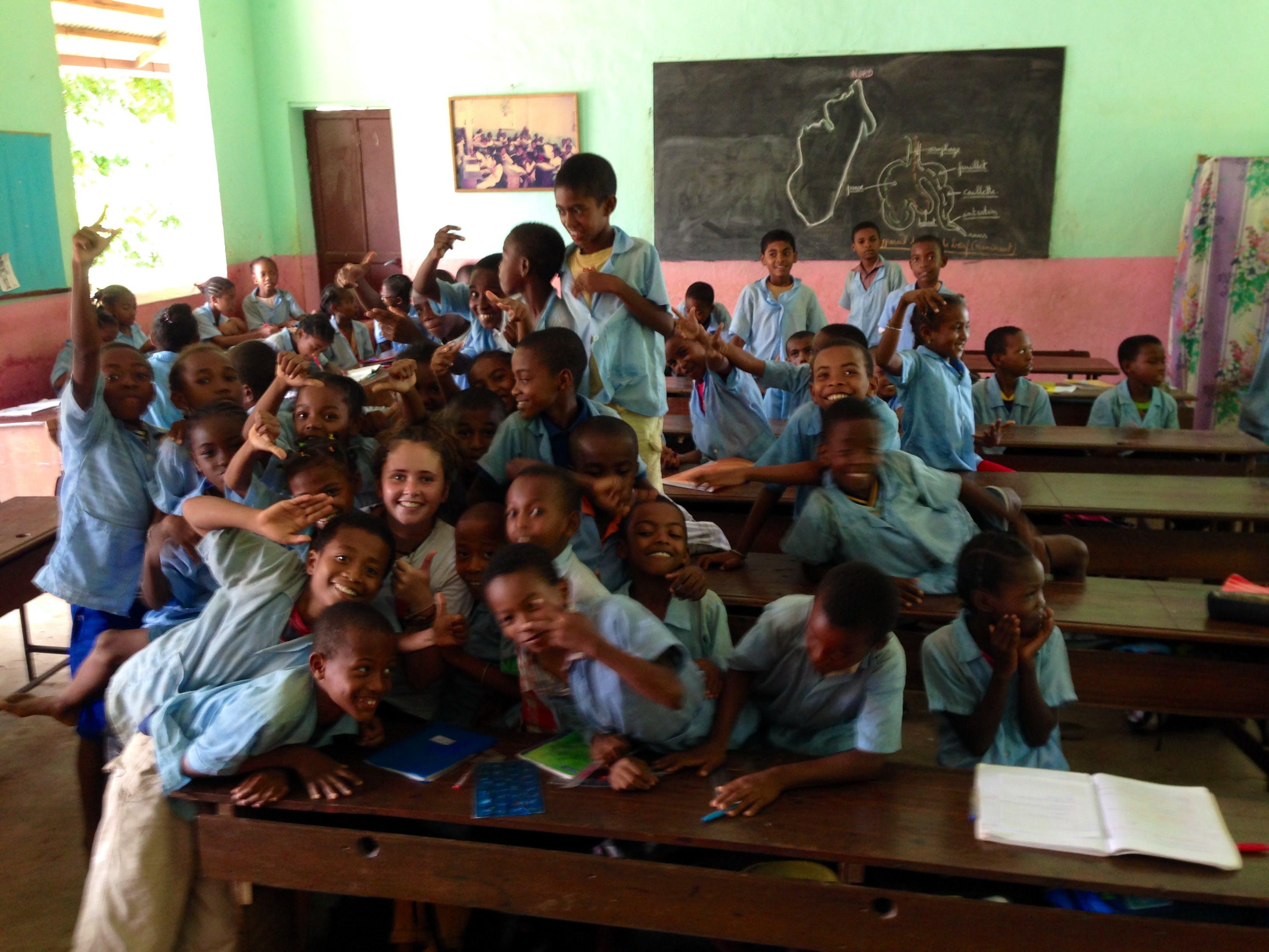 Madagascar Island Teacher
