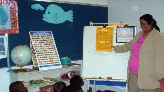 Teach Children in Schools & Refugee Centers