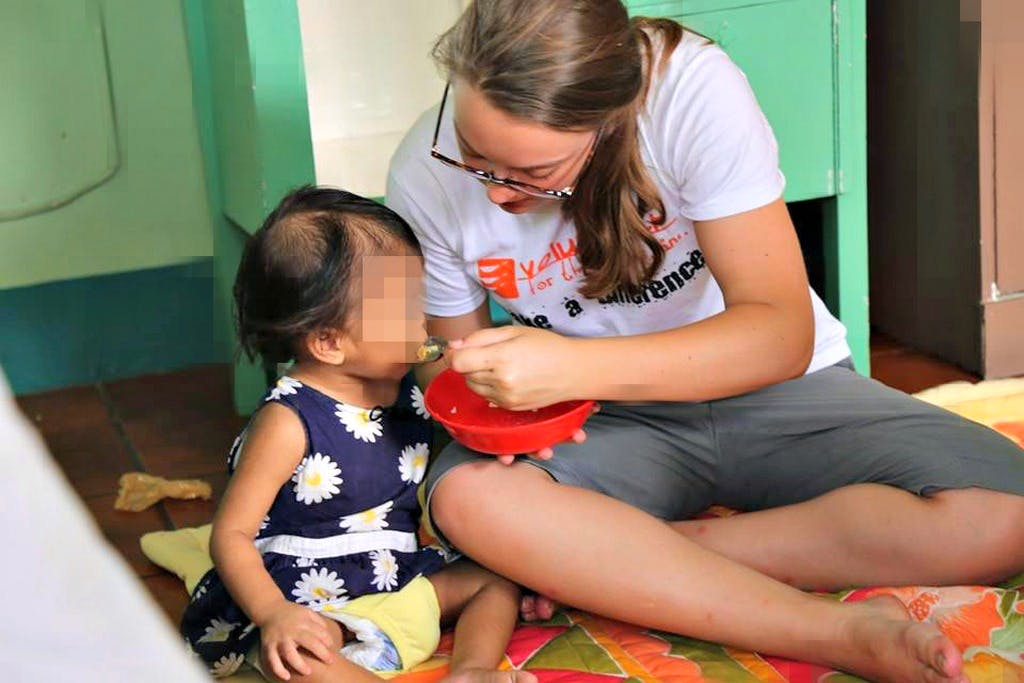 Orphanage Childcare and Education Helper