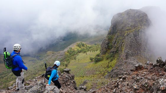 Volcano Hiking Expedition