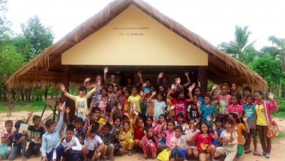 Rural Primary School Teaching Cambodia