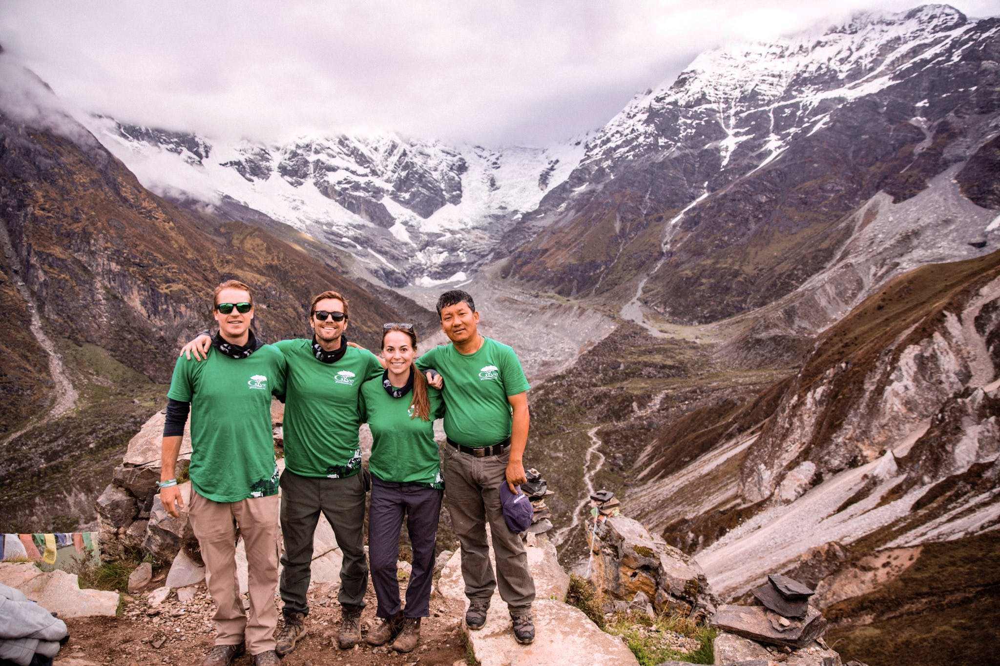 Disaster Relief & Everest Trekking Experience