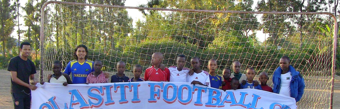 Football Coach for Young Team