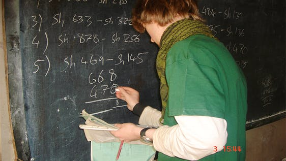 Education and Teaching Assistant