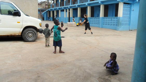 After School Coach Football to Children