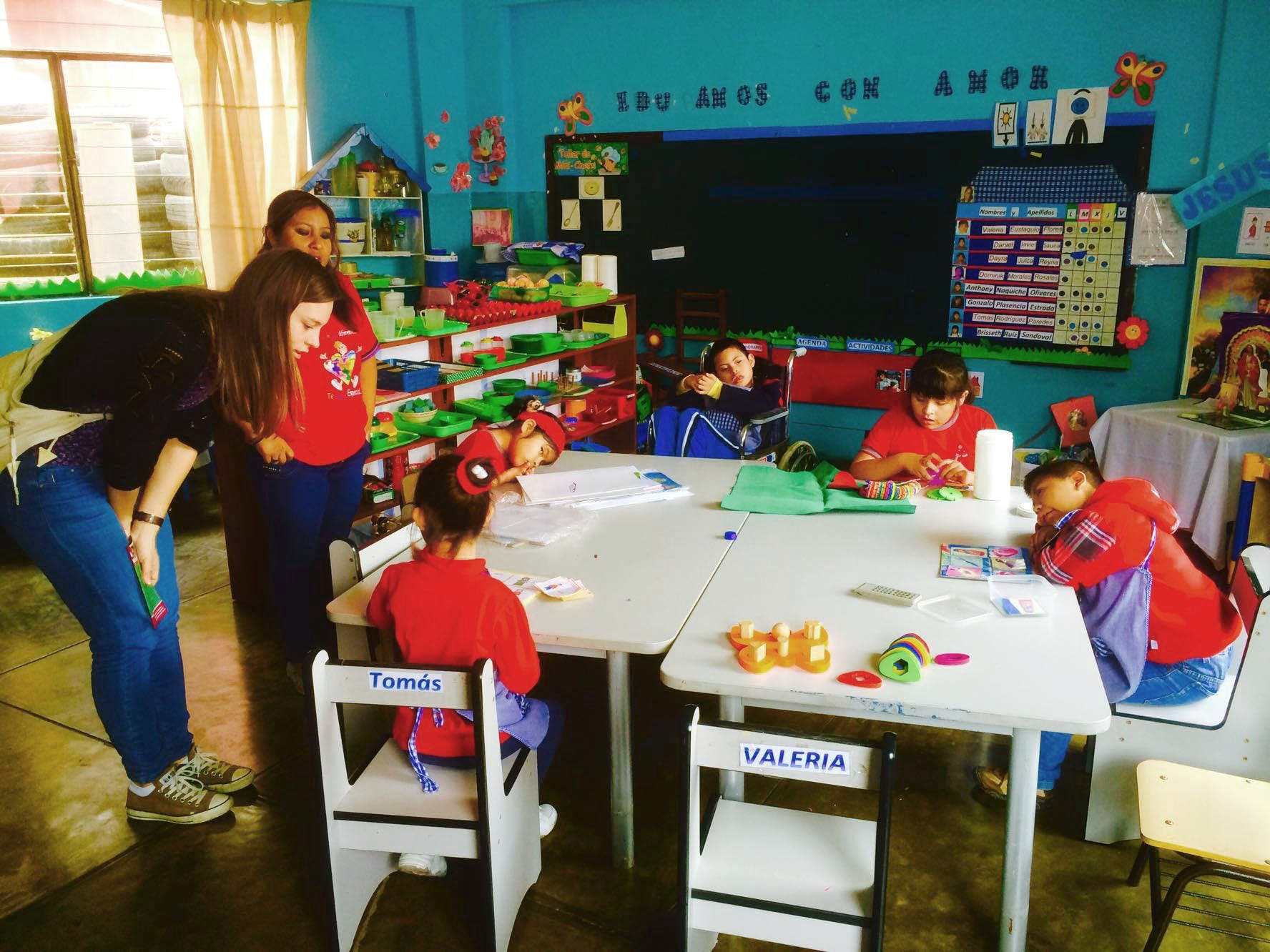 'Santo Toribio' School for Disabled Children