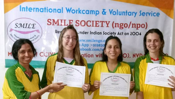 ▷ SMILE Society, India | Volunteer Abroad 2019 | Volunteer