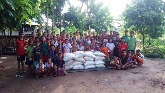 Thai Humanitarian Aid Involvement
