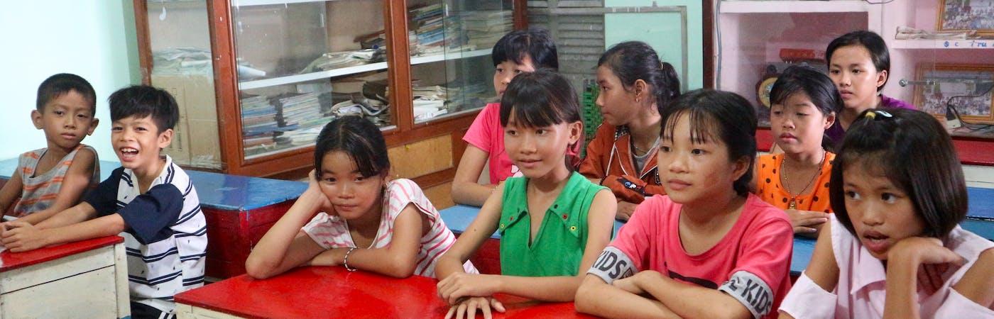 Care and teach underprivileged children