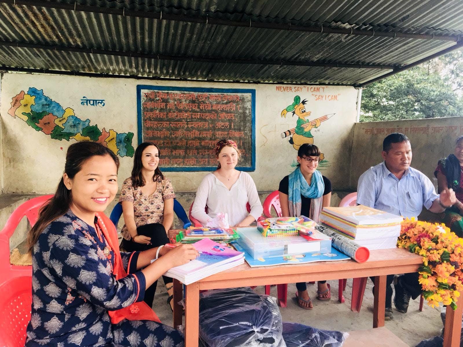 2-week Everest trekking + 2-week volunteer on Farm