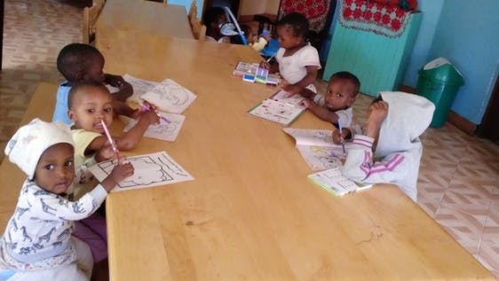 Help and assist at an orphanage for children