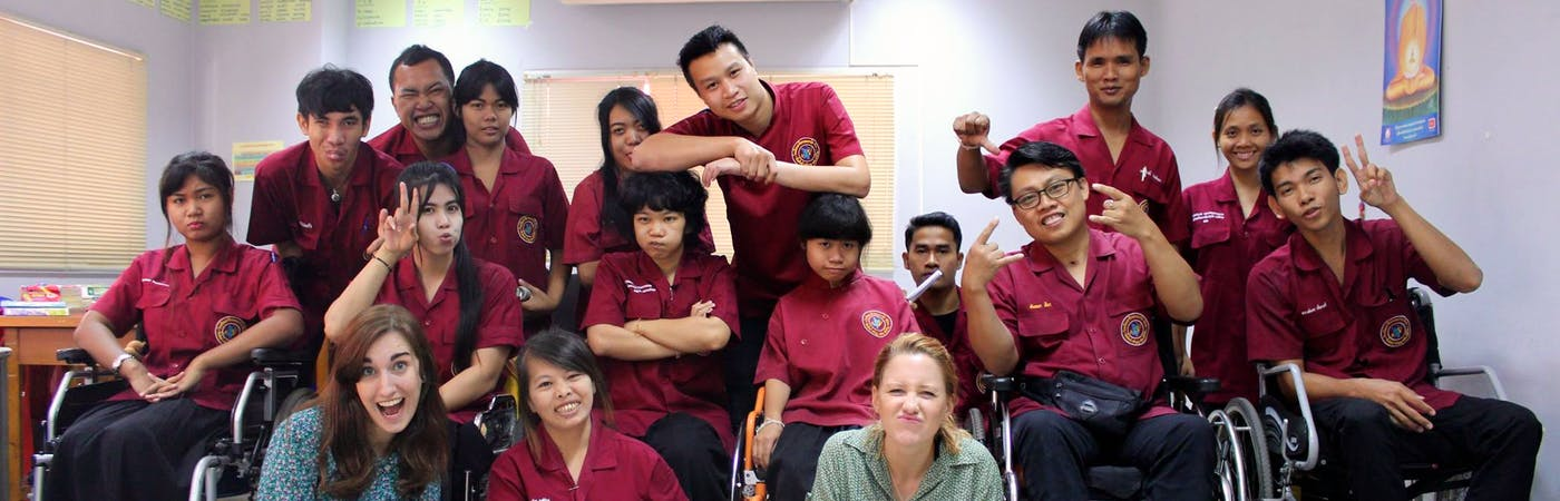 Teach & Help people with disabilities