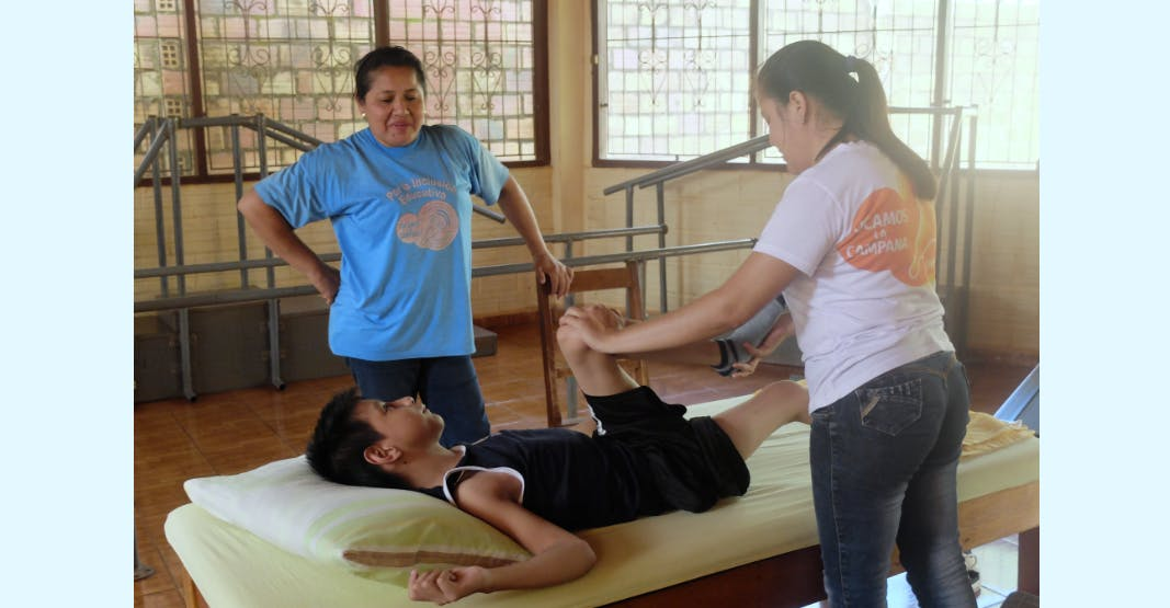 Work in rehab with children with special needs
