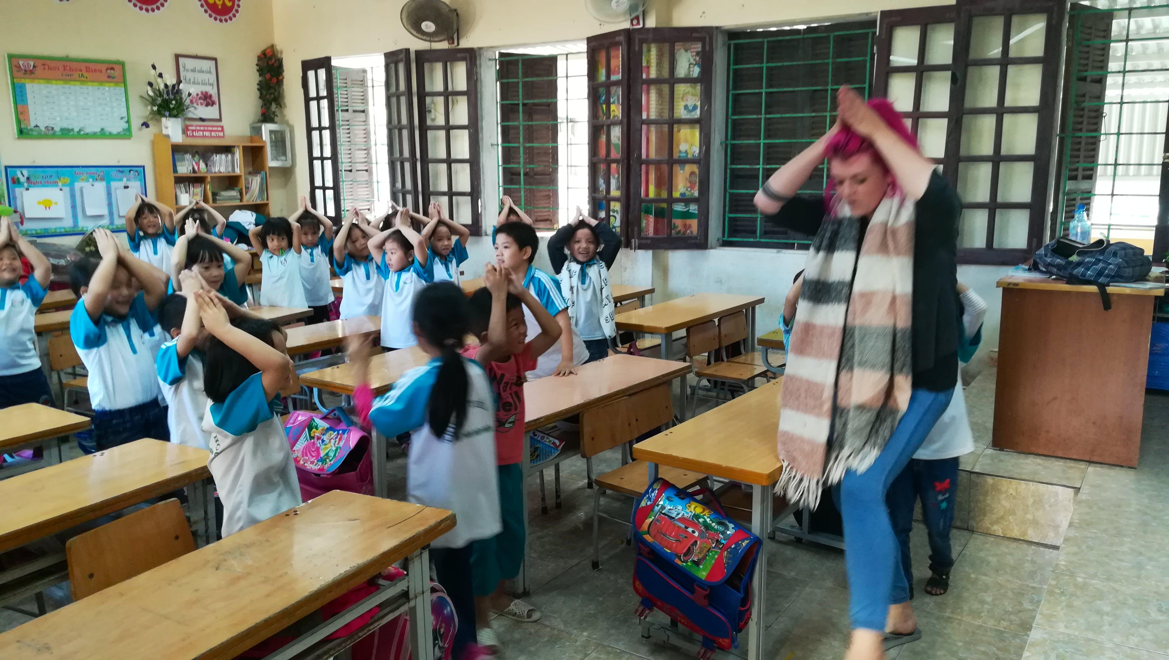 Teach English & Local Culture