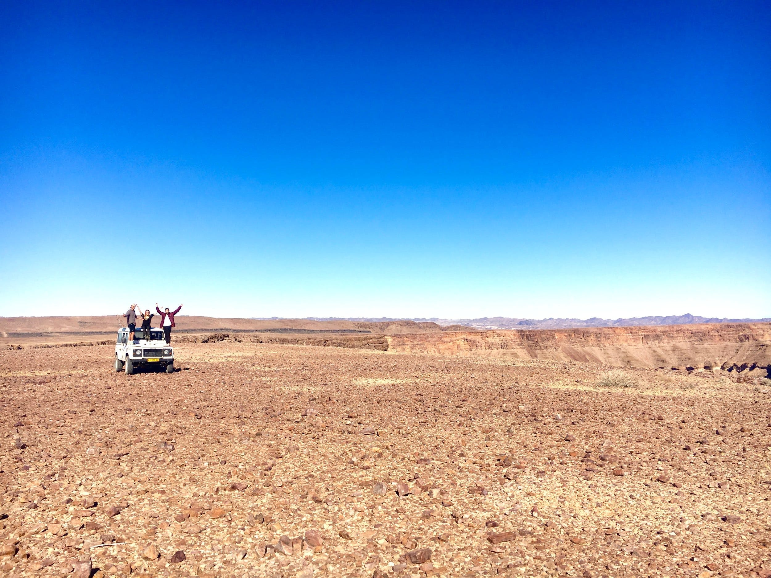 Namibia Adventure and Conservation Expeditions