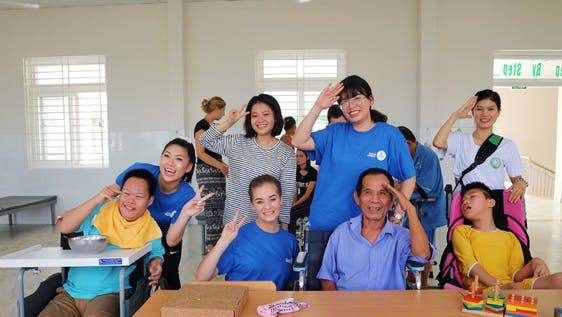 Physiotherapy for children and elderly in Da Nang