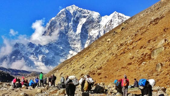 Everest Base Camp Trek & Community Support