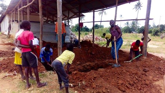 Construct a classroom & Teach at Eco Green School