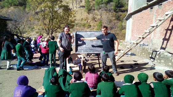 English Teaching in the Himalayas