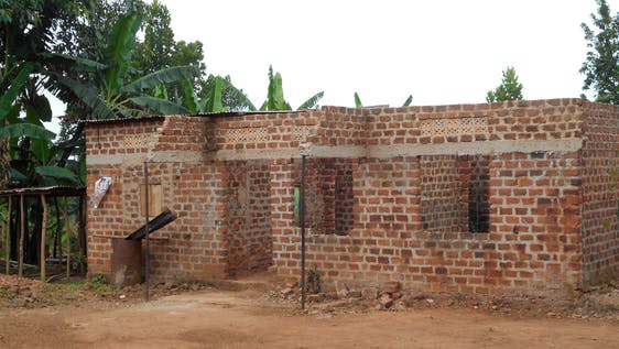 Construction of a volunteer house