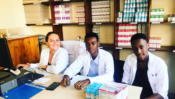 Pharmacist Hospital Intern